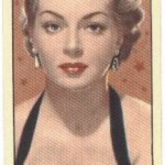 Lana Turner 1955 Barbers Tea trading card