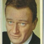 John Wayne 1955 Kane Products trading card
