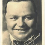 Roscoe Fatty Arbuckle 1920s 5x7 Fan Photo