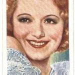 Janet Gaynor 1935 Ardath tobacco card
