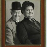 Laurel and Hardy tobacco card from Germany