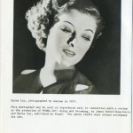 Myrna Loy 1987 Being and Becoming Press Kit