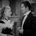 Alice Faye and Tyrone Power in In Old Chicago