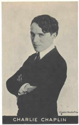 Charlie Chaplin 1910s postcard