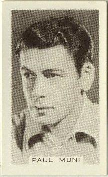 Paul Muni 1936 Facchinos Cinema Stars