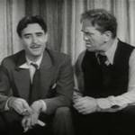 John Gilbert and Louis Wolheim in Gentlemans Fate