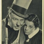 WC Fields and Freddie Bartholomew 1940 Wix Tobacco Card