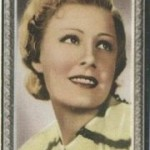 Irene Dunne 1936 Godfrey Phillips Tobacco Card