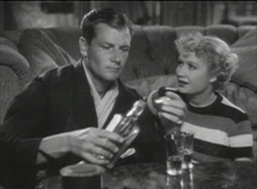 Joel McCrea and Miriam Hopkins