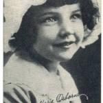 Baby Marie Osborne circa 1917 Kromo Gravure Trading Card
