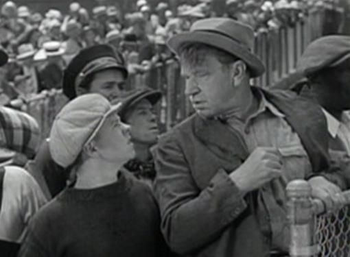 Mickey Rooney and Wallace Beery