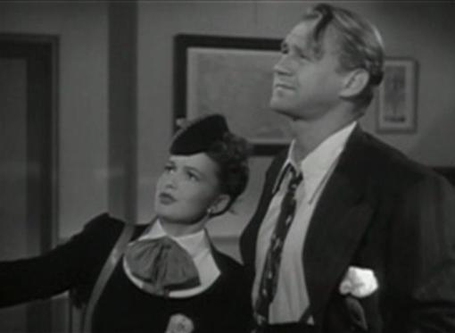 Olivia de Havilland and Sonny Tufts in Government Girl