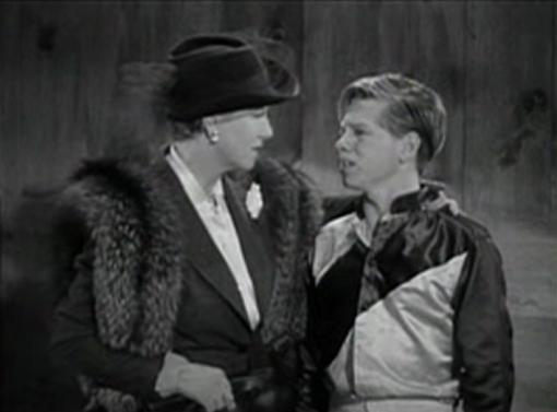 Marjorie Gateson and Mickey Rooney