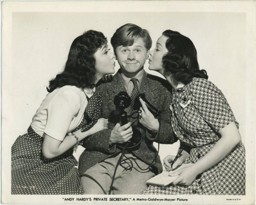 Ann Rutherford Mickey Rooney Kathryn Grayson