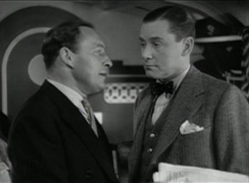 Lionel Atwill and Herbert Marshall