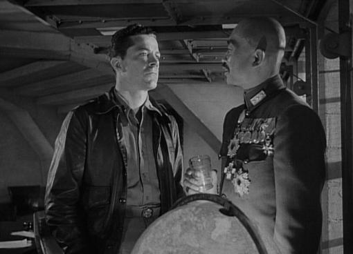 Dana Andrews and Richard Loo