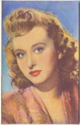 Celeste Holm 1951 Artisti del Cinema Card