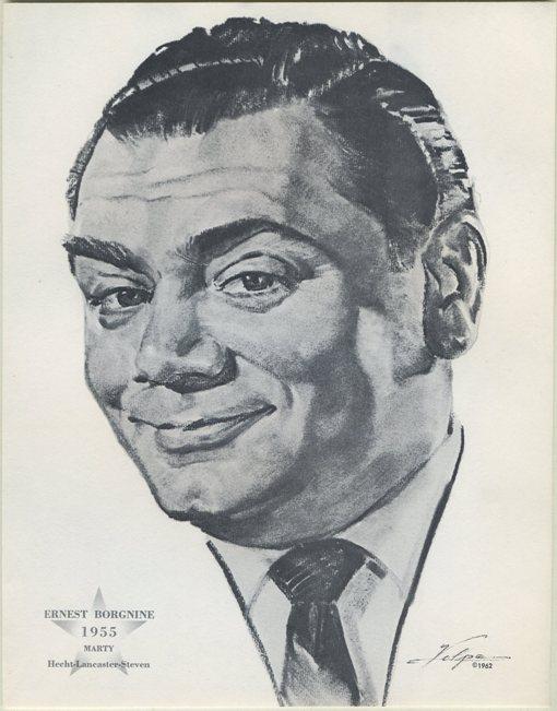 Ernest Borgnine 1962 Volpe Oscar Portrait