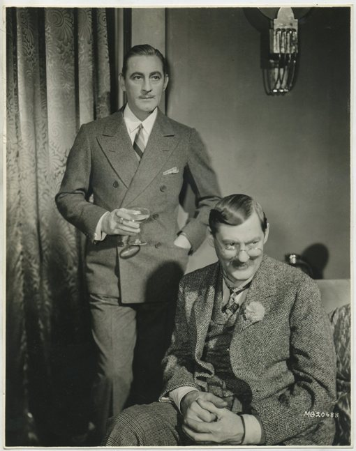 John Barrymore and Lionel Barrymore
