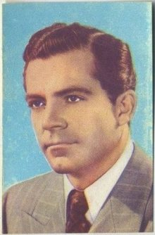 Dana Andrews 1951 Artisti del Cinema Trading Card
