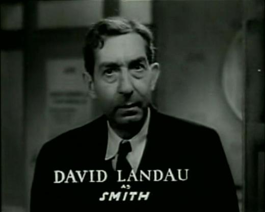 David Landau from Bedside opening credits