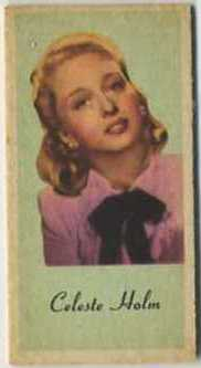Celeste Holm Weight Machine Card