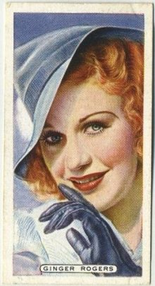 Ginger Rogers 1935 Ardath Tobacco Card
