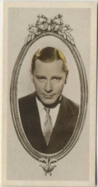 Herbert Marshall 1934 Godfrey Phillips movie card