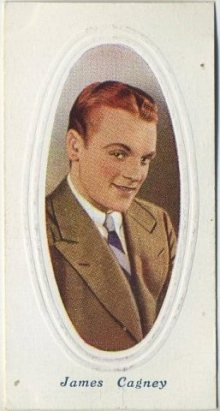 James Cagney 1936 Godfrey Phillips Tobacco Card