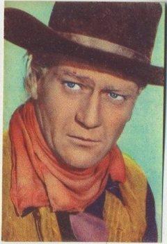 John Wayne 1951 Artisti del Cinema trading card