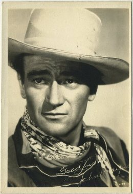 John Wayne 1930s era Fan Photo