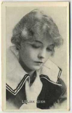 Lillian Gish 1917 Kromo Gravure Trading Card
