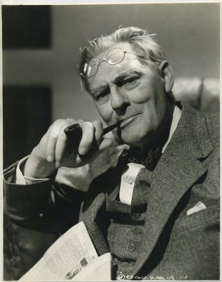 Lionel Barrymore 1940s Promotional Portrait
