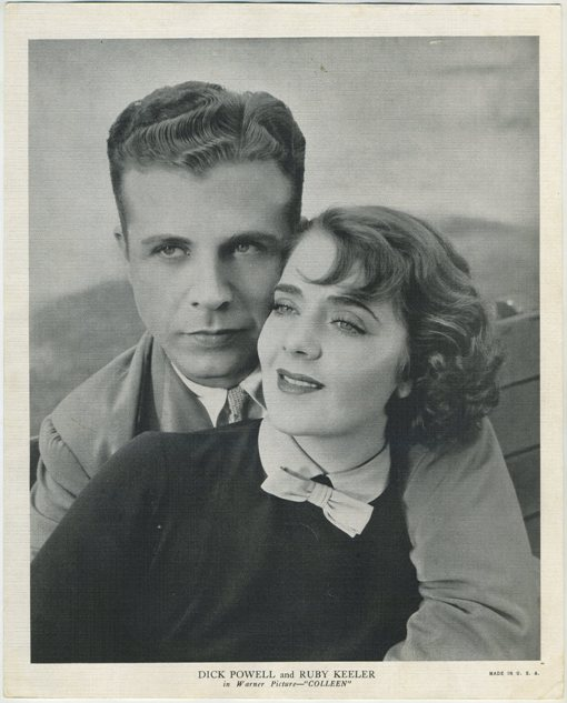 Dick Powell and Ruby Keeler 1936 R95 8x10 Premium Photo