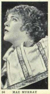 Mae Murray Strollers Tobacco Card