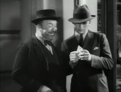 Guy Kibbee and Douglas Fairbanks Jr in Union Depot