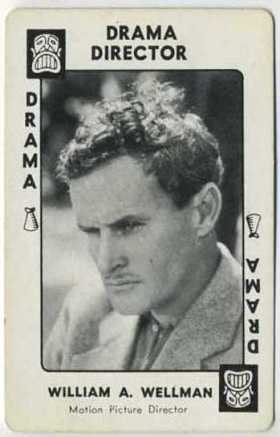 William Wellman 1938 Movie Millions Game Card