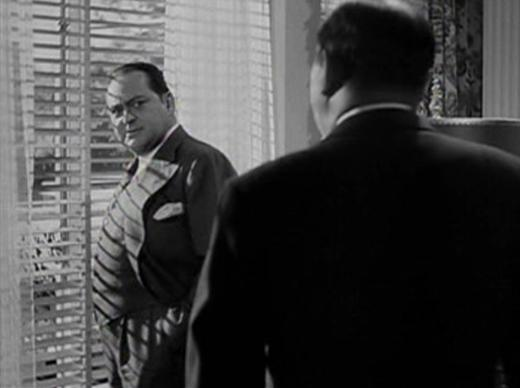 Edward Arnold behind bars