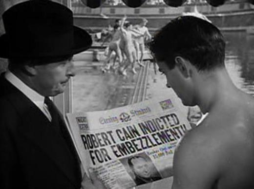 Tyrone Power gets the news from Lionel Atwill