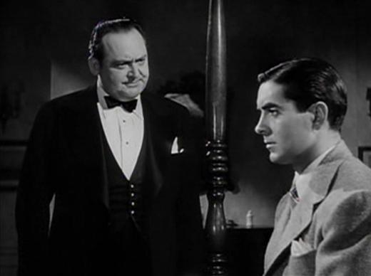 Edward Arnold and Tyrone Power