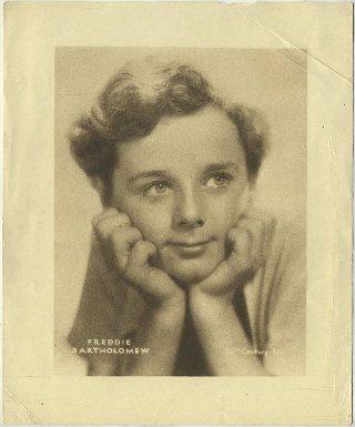 Freddie Bartholomew 1936 MGM Studio Paper Premium Photo