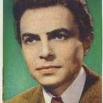James Mason 1951 Artisti del Cinema trading card