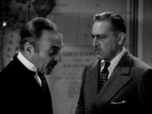 C. Henry Gordon and John Barrymore