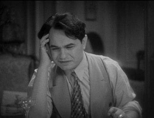 Edward G. Robinson as Nick the Barber