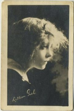 Lillian Gish circa 1917 Kinema Theatre Advertising Card