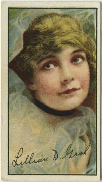 Lillian Gish 1916 Imperial Tobacco Co Tobacco Card