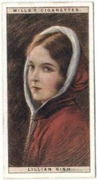 Lillian Gish 1928 Wills Tobacco Card