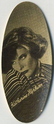 Katharine Hepburn 1934 Carreras Tobacco Card