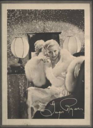 Ginger Rogers 1934 Lux Toilet Soap 9x11 Premium Photo