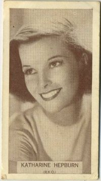 Katharine Hepburn 1934 Wills Tobacco Card